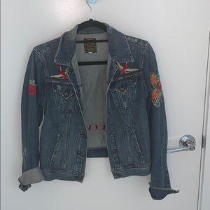 Vintage Lucky Brand Jean Jacket